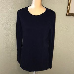 Mossimo Navy Casual Cotton Tee XXL